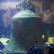 Photo Courtesy of CTV News - A 3D printed replica of the bell from the HMS Erebus, one of two ships from the Franklin Expedition, is unveiled at the Royal Ontario Museum in Toronto on Thursday, Dec. 18, 2014.