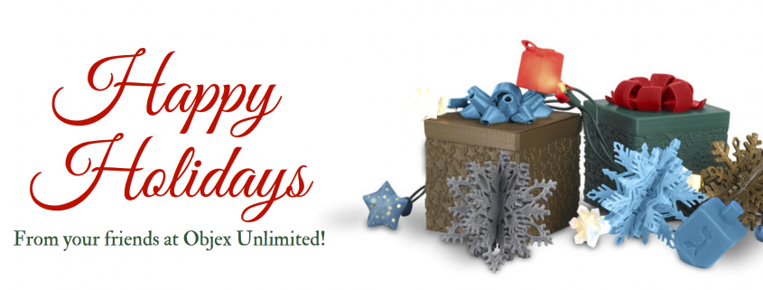 Objex Unlimited - Happy Holidays!
