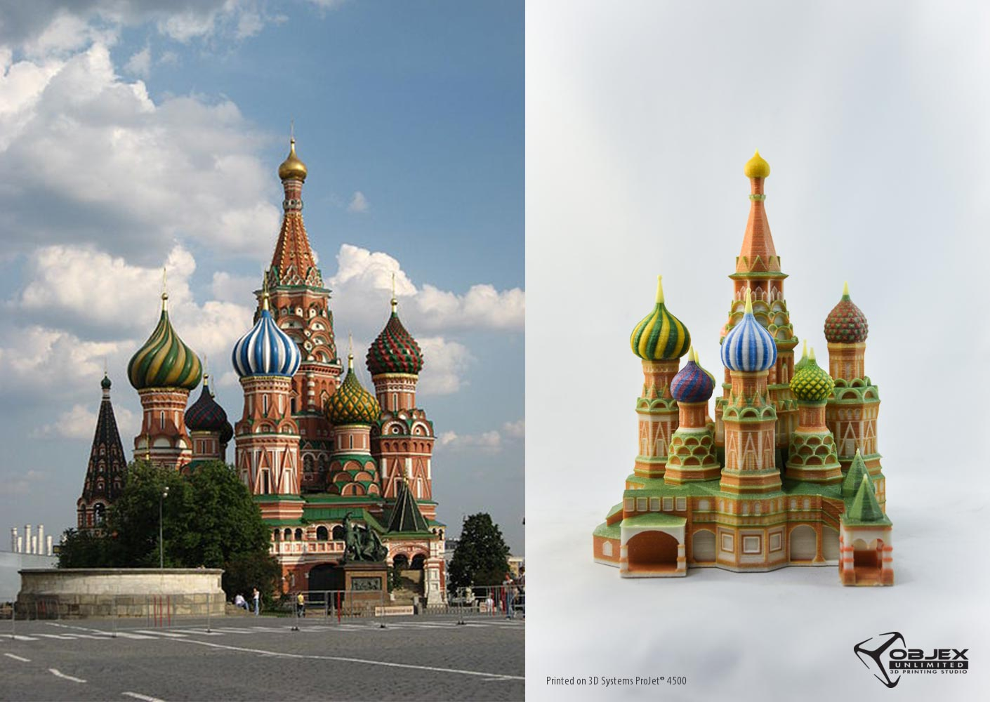 Visit St. Basil Cathedral from the safety of your desk.