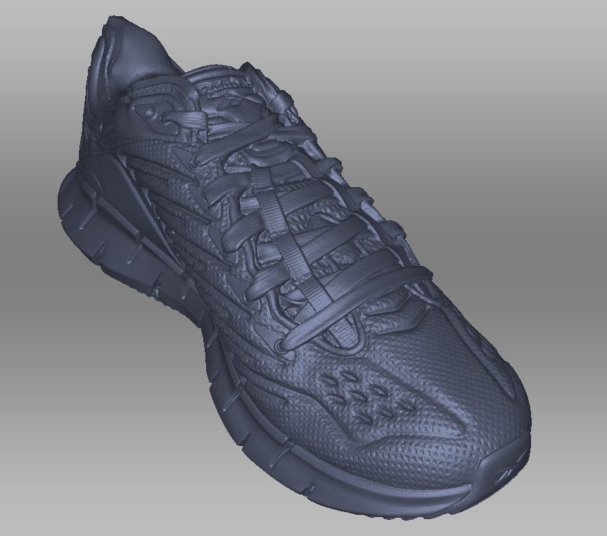 3D Scanning of Shoe in Toronto