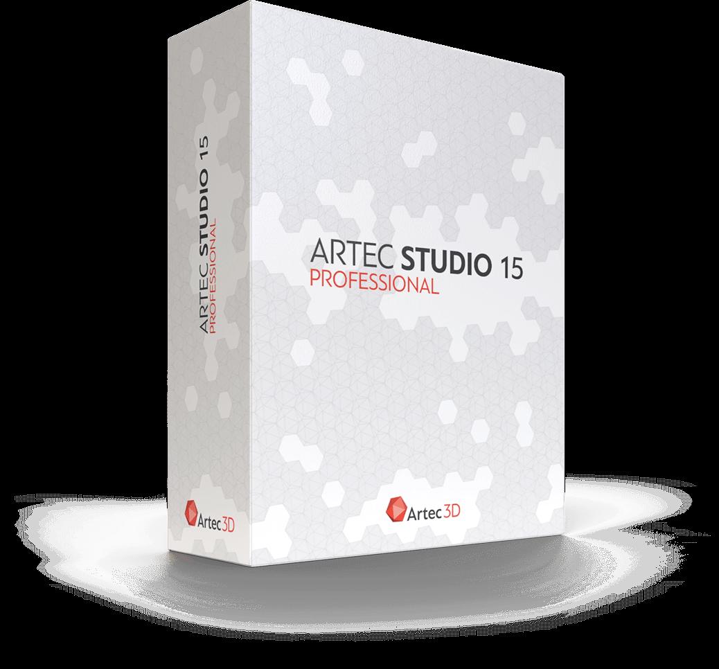 Artec Studio 15 3D Scanning Software